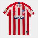 Atletico Madrid 19/20 Home Replica Kids Football Shirt
