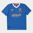 Rangers Home Shirt 2021 2022 Juniors