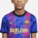 Barcelona Third Shirt 2021 2022 Junior
