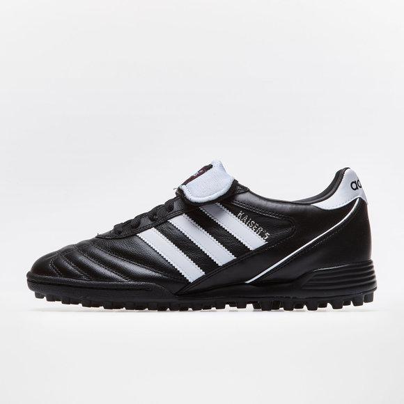 adidas Kaiser 5 Team Turf Football Trainers. Black Running White 5c49225417