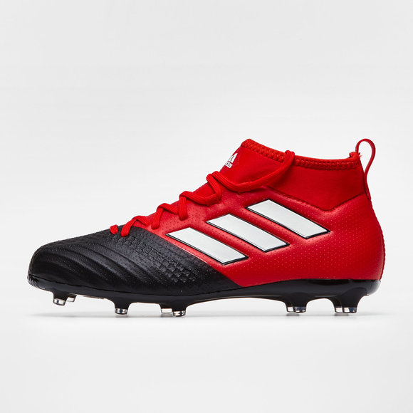 cheaper d5fd4 3529f adidas Ace 17.1 FG Kids Football Boots. RedWhiteCore Black