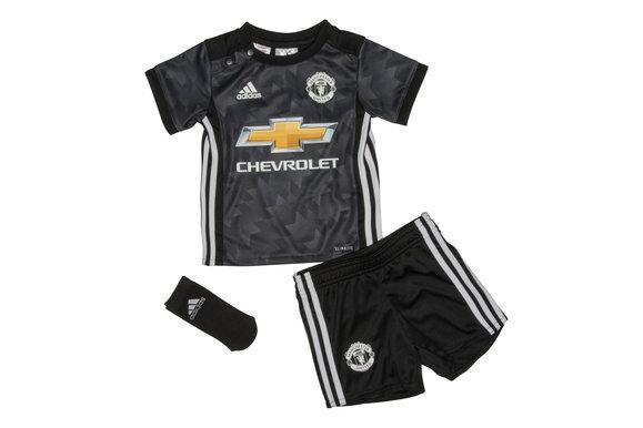 Adidas 18 Manchester United 17 / 18 Adidas Via Bambino Replica Football Kit, c13bfa