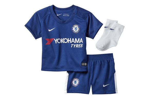 Chelsea FC 17/18 Infant Home Football Kit