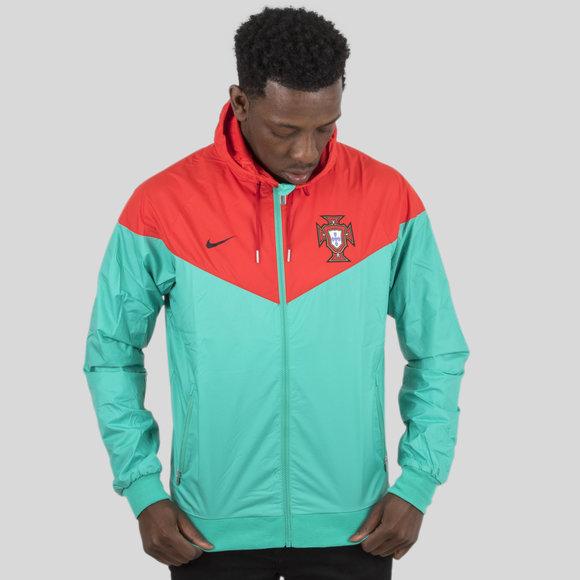 Nike Portugal 2018 Windrunner Football Jacket db10a4344