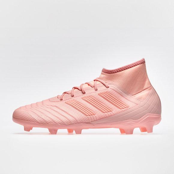 adidas Predator 18.2 FG Football Boots. Clear Orange Clear Orange Trace Pink f5ed0be9c7f