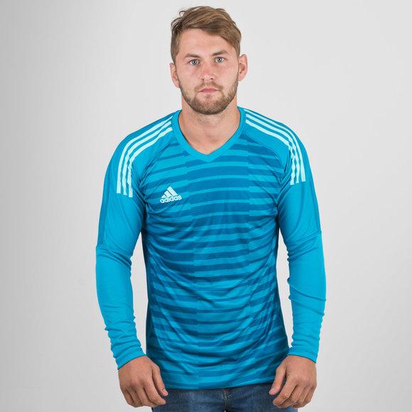 adidas adiPro 18 L S Goalkeepers Shirt. Bold Aqua Unity Blue Energy Aqua d7b95562f
