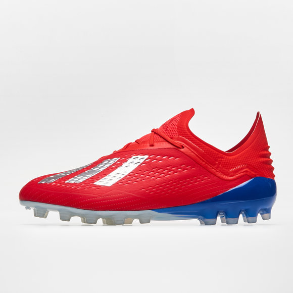 adidas X 18.1 AG Football Boots. Active Red Silver Metallic Bold Blue 027c023486e