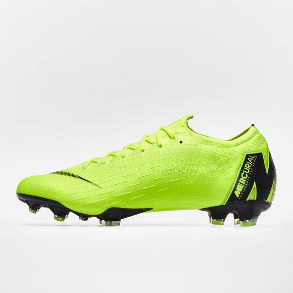 Nike Mercurial Vapor XII Elite FG Football Boots. Volt Black 51baa2c4f