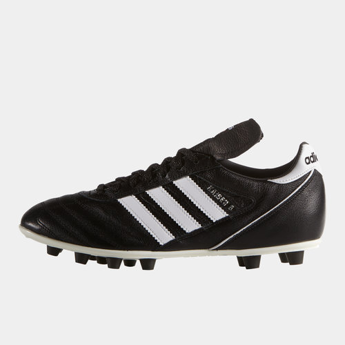 new product b84f9 fa947 adidas Kaiser 5 Liga Moulded FG Football Boots. Black Running White Red