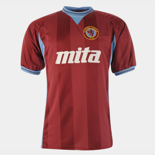 Aston Villa 1984 Home S/S Retro Football Shirt