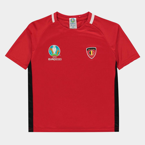 Euro 2020 Belgium Core T Shirt Junior Boys