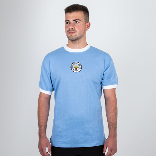Manchester City 1972 Home Retro Football Shirt