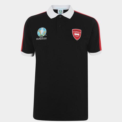 Euro 2020 Austria Polo Shirt Mens