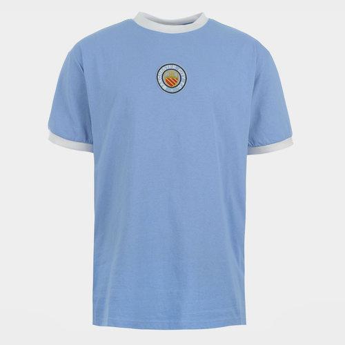 Retro Manchester City 1970 Home Shirt Mens