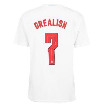 England Euro 2020 Grealish T-Shirt Mens