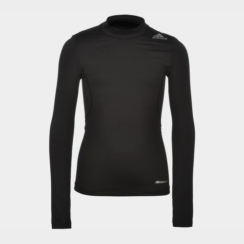 TechFit Mock Neck Baselayer L/S Top Juniors