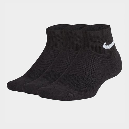 Performance Cushion Quarter Socks Junior