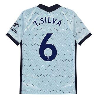 Chelsea Thiago Silva Away Shirt 20/21 Kids