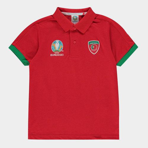Euro 2020 Portugal Polo Shirt Junior Boys