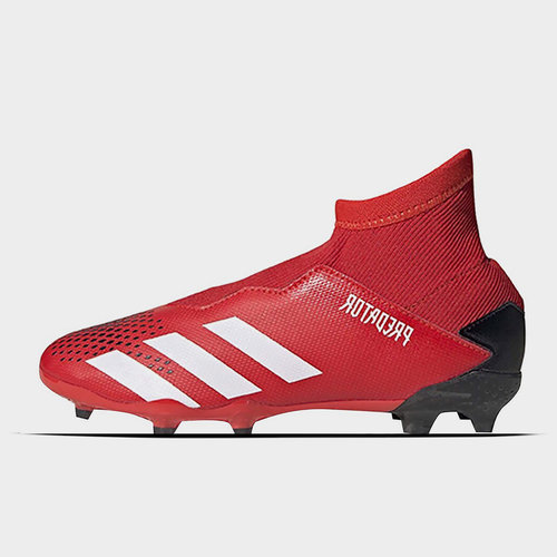 Predator 20.3 Laceless Childrens FG Football Boots