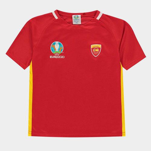 Euro 2020 Spain Polyester T Shirt Junior