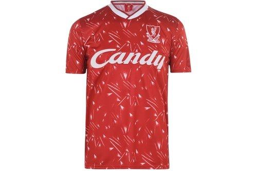 Liverpool 1989 1990 Home Shirt Mens