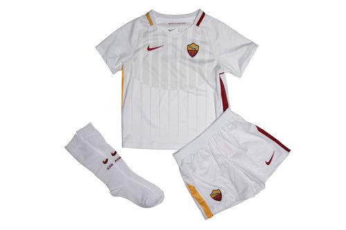 AS Roma 17/18 Little Kids Away Football Kit