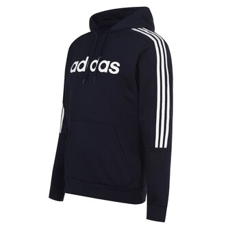 3 Stripes Logo Over The Head Hoody Mens