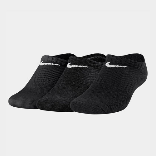 3 Pack No Show Socks Junior