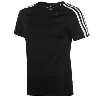 D2M 3 Stripe T Shirt Ladies
