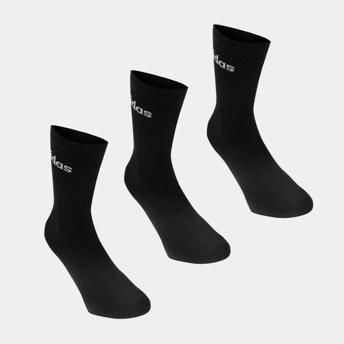 Crew Three Pack Socks Mens
