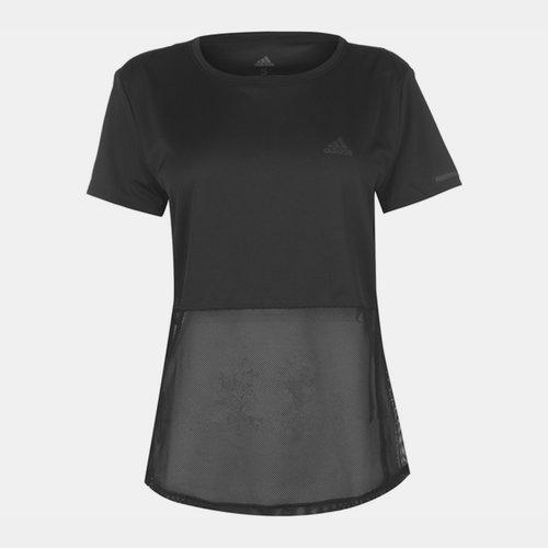 Mesh Layer T Shirt Ladies