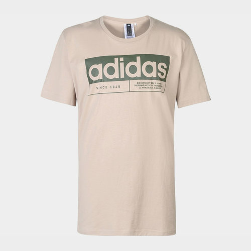 New Box Linear QT T Shirt Mens