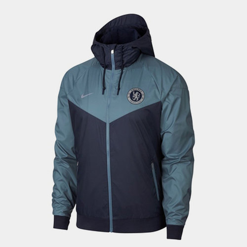Chelsea 19/20 Windrunner Woven Football Jacket