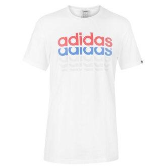 Repeat Linear T Shirt Mens