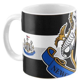NUFC Crest Football Mug