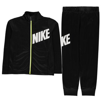 Core Full Zip Polyester Tracksuit Boys