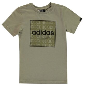 Box Linea Texture QT T Shirt Junior Boys
