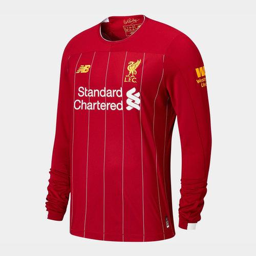 Liverpool Long Sleeve Home Shirt 2019 2020 Junior