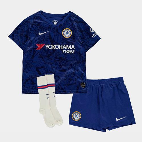 Chelsea 19/20 Home Mini Kids Football Kit