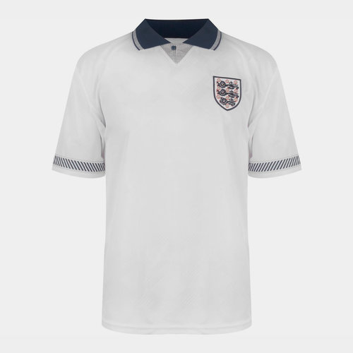 England 90 Home Jersey Mens