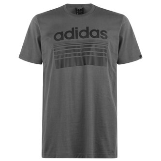 Horizon Linear T Shirt Mens