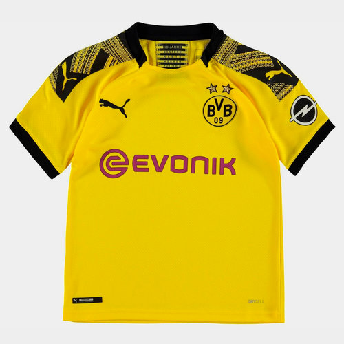 Borussia Dortmund 19/20 Kids Home S/S Football Shirt