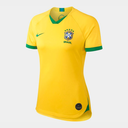 Brazil Womens World Cup 2019 Home Shirt Ladies