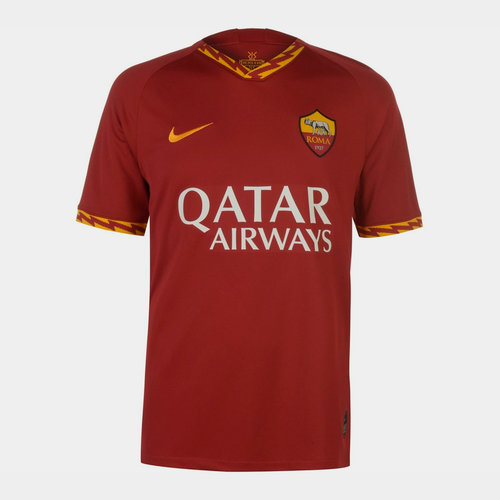 AS Roma 19/20 Home S/S Football Shirt