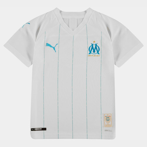 Marseille Home Shirt 2019 2020 Junior