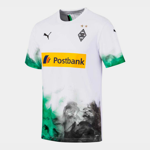 Borussia Monchengladbach 19/20 Home S/S Replica Football Shirt