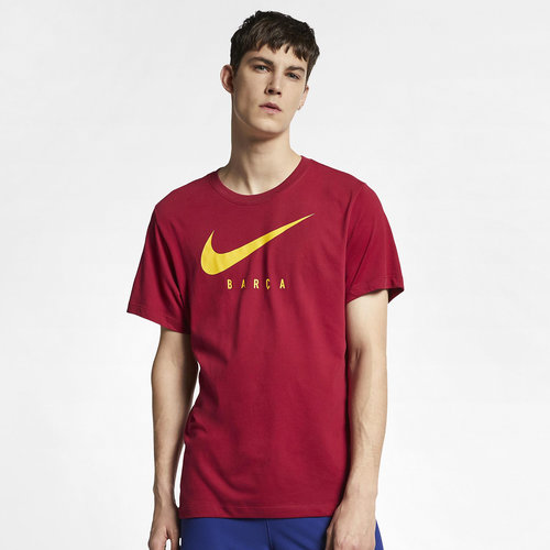 FC Barcelona Swoosh Graphic Football T-Shirt