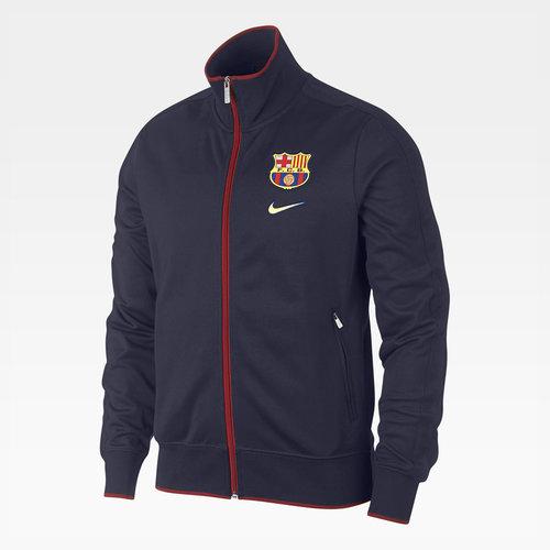 FC Barcelona Classic Full Zip Football Jacket
