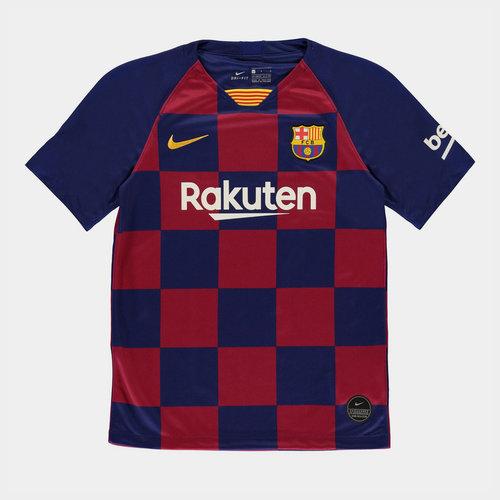 FC Barcelona 19/20 Kids Home S/S Football Shirt